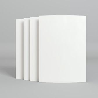 Blanco zakelijke kopie ruimte visitekaartjes met schaduwen