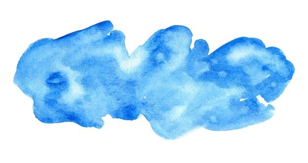 Blauw artistiek ontwerpelement voor banner, sjabloon, print en logo