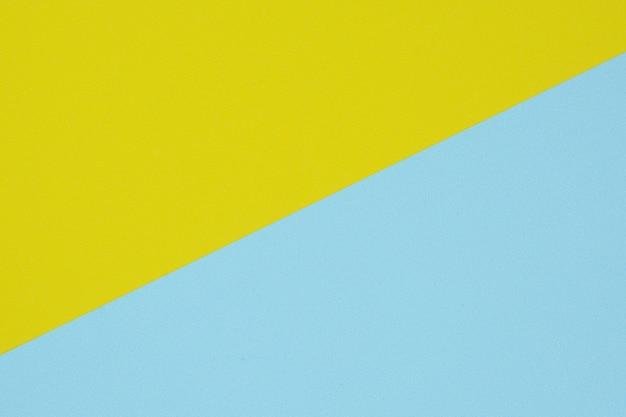 Blauw en geel papier textuur