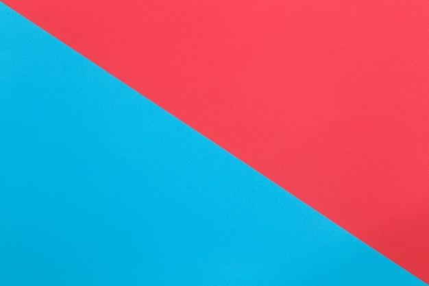 Blauw en oranje van kartonpapier.