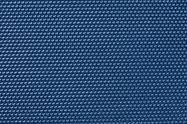 Blauw gekleurd honingraatpatroon behang