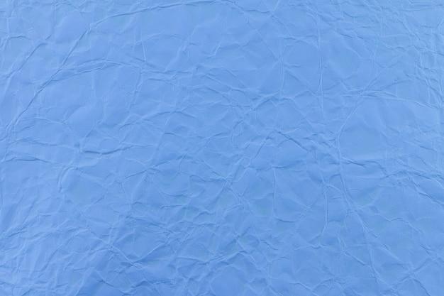 Blauw gerimpeld document gebruik voor achtergrond