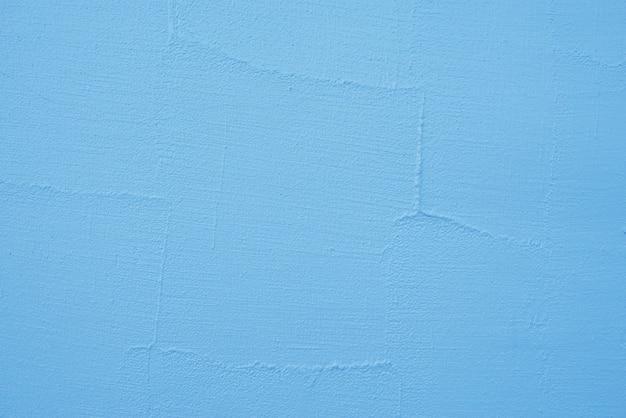 Blauw geschilderde muur