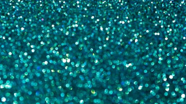 Blauw glitter close-up achtergrond
