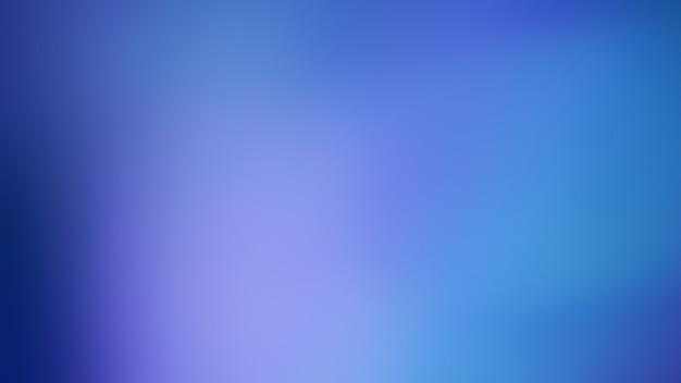 Blauw kleurverloop onscherpe abstracte vloeiende lijnen kleur achtergrond