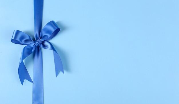 Blauw lintje