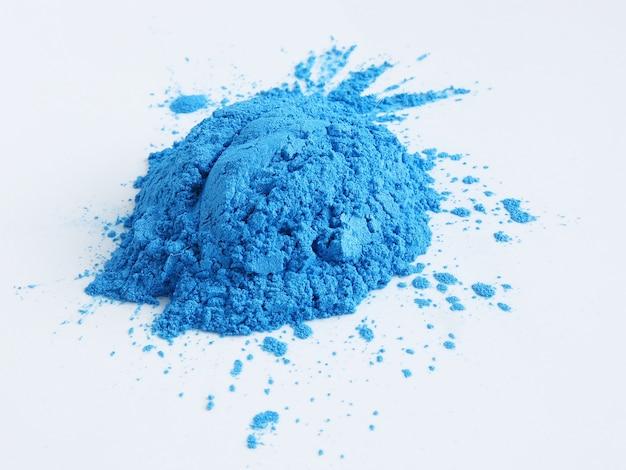 Blauw micapoederpigment voor cosmetica