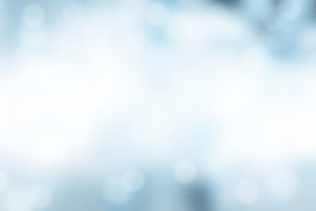 Blauw vaag met bokeh abstracte achtergrond