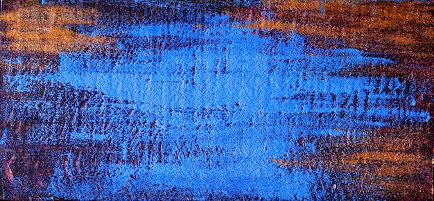 Blauw verweerd oppervlak