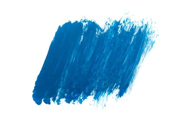 Blauwe abstracte achtergrond in aquarel stijl