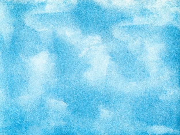 Blauwe abstracte aquarel achtergrond voor texturen