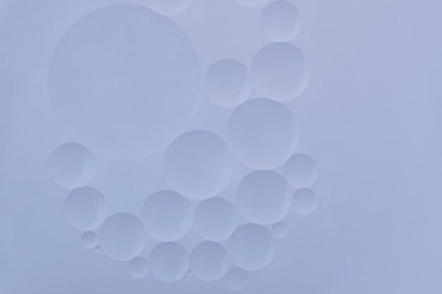 Blauwe achtergrond abstracte olie bubble textuur behang