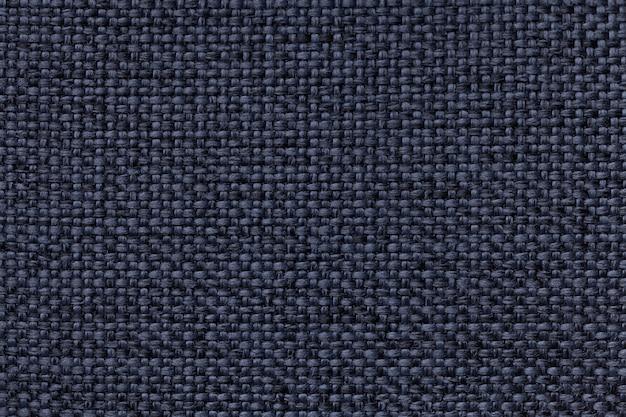Blauwe achtergrond met gevlecht geruit patroon, close-up