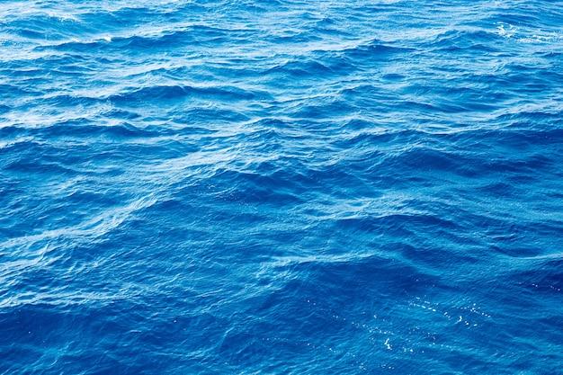 Blauwe achtergrond van water
