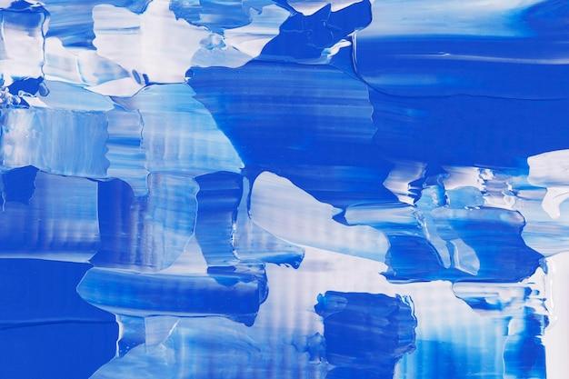 Blauwe achtergrondbehang abstracte verftextuur