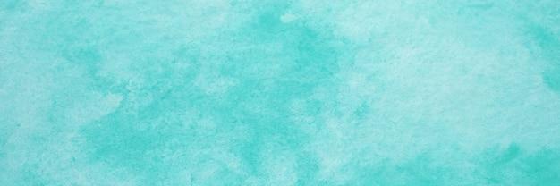 Blauwe aquarel achtergrond, aquarel schilderij zachte textuur op natte witte papier achtergrond