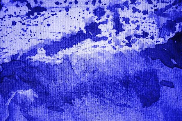 Blauwe aquarel achtergrond