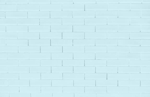 Blauwe bakstenen muur getextureerde achtergrond