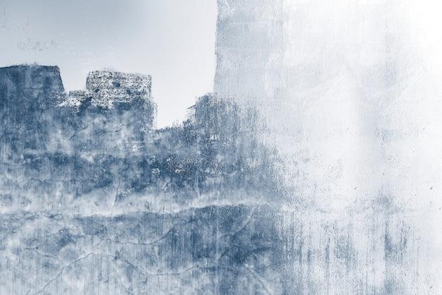 Blauwe betonnen getextureerde muur