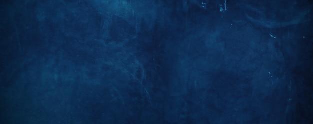 Blauwe betonnen muur achtergrond.