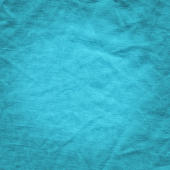Blauwe canvas abstracte textuur.
