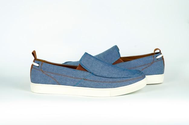 Blauwe casual schoenen