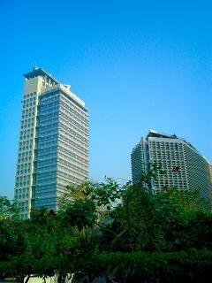 Blauwe city 4
