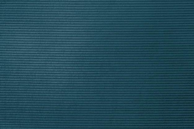 Blauwe corduroy stof getextureerde achtergrond