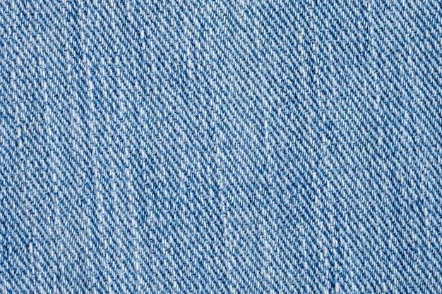 Blauwe denim jeans structuurpatroon