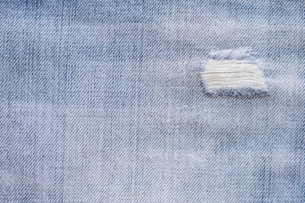 Blauwe denim jeans textuur patroon achtergrond