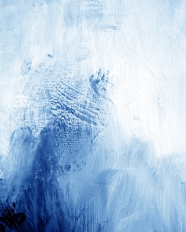 Blauwe donkere olieverf abstracte achtergrond.