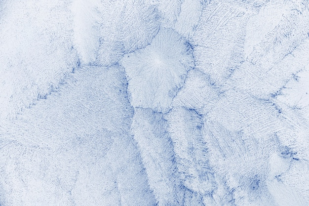 Blauwe frost textuur