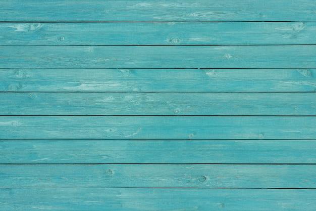Blauwe geschilderde houten planken, achtergrond, textuur