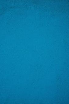 Blauwe gipsachtergrond of ruwe patroon turkooise textuur. muur turkooise textuur. blauw beton