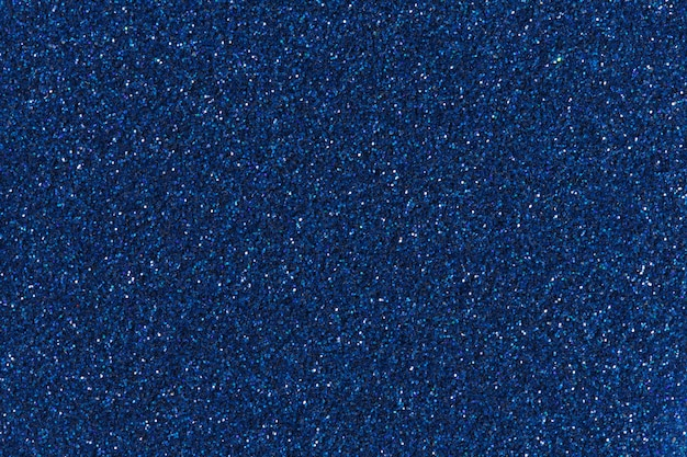 Blauwe glitter voor textuur of achtergrond. hoge resolutie foto.