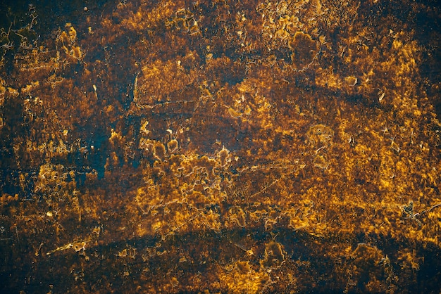 Blauwe gouden vintage kunstachtergrond
