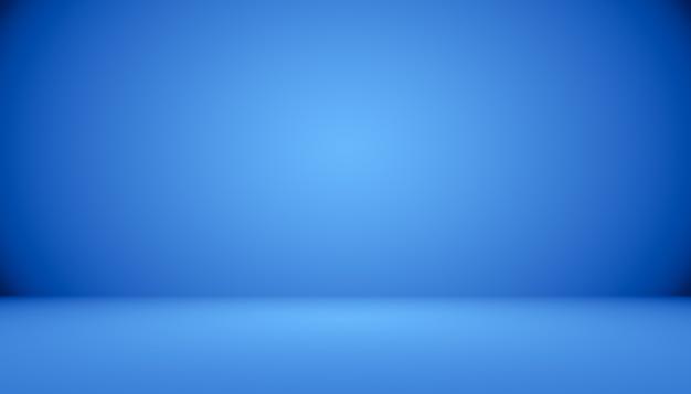 Blauwe gradiënt abstracte achtergrond lege ruimte met ruimte voor uw tekst en afbeelding.