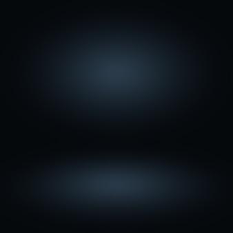 Blauwe gradiënt abstracte lege ruimte als achtergrond
