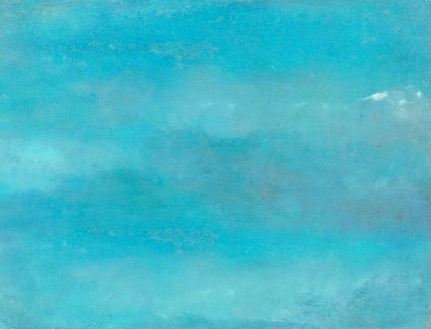 Blauwe grungy betonnen muur achtergrond