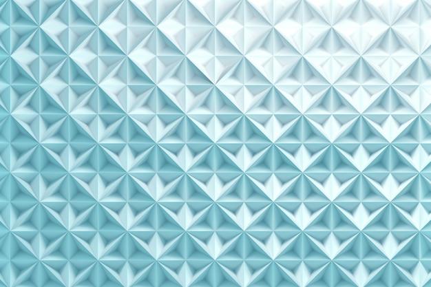 Blauwe herhalende piramide driehoek achtergrond
