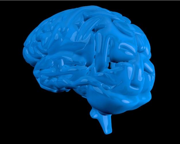 Blauwe hersenen