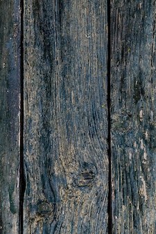 Blauwe houten achtergrond. donkere houten paneeltextuur.