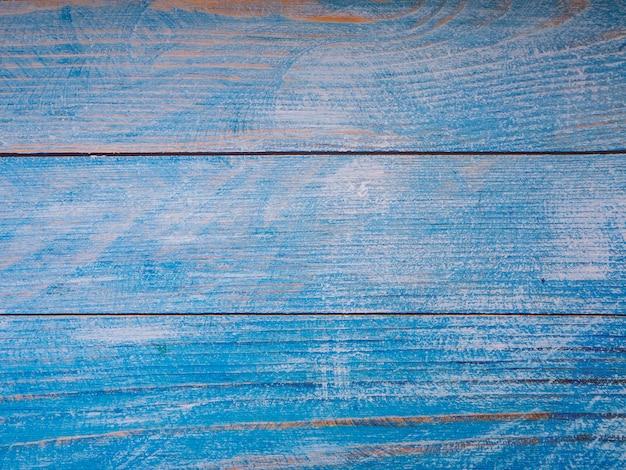 Blauwe houten achtergrondtextuurachtergrond