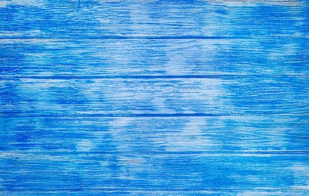 Blauwe houten planken achtergrond