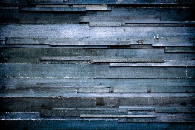Blauwe houtstructuur achtergrond