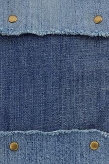 Blauwe jean als achtergrondstructuur