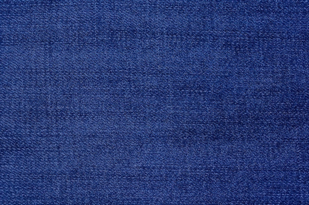 Blauwe katoenen denim achtergrond