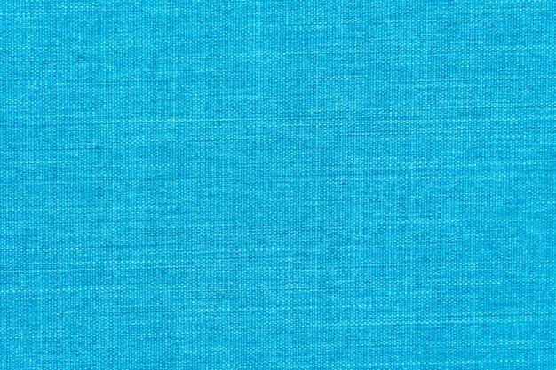 Blauwe katoenen texturen