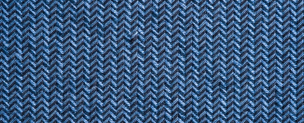 Blauwe kleding stof textuur.