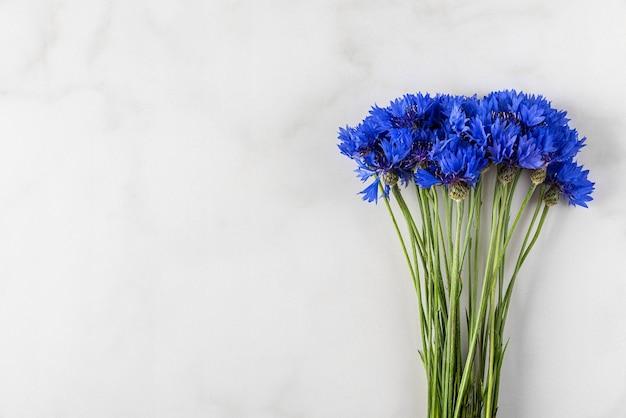 Blauwe korenbloemen
